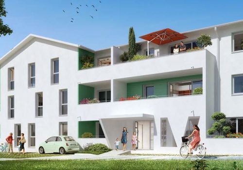 RESIDENCE CLOS CLEMENCEAU – Neuf